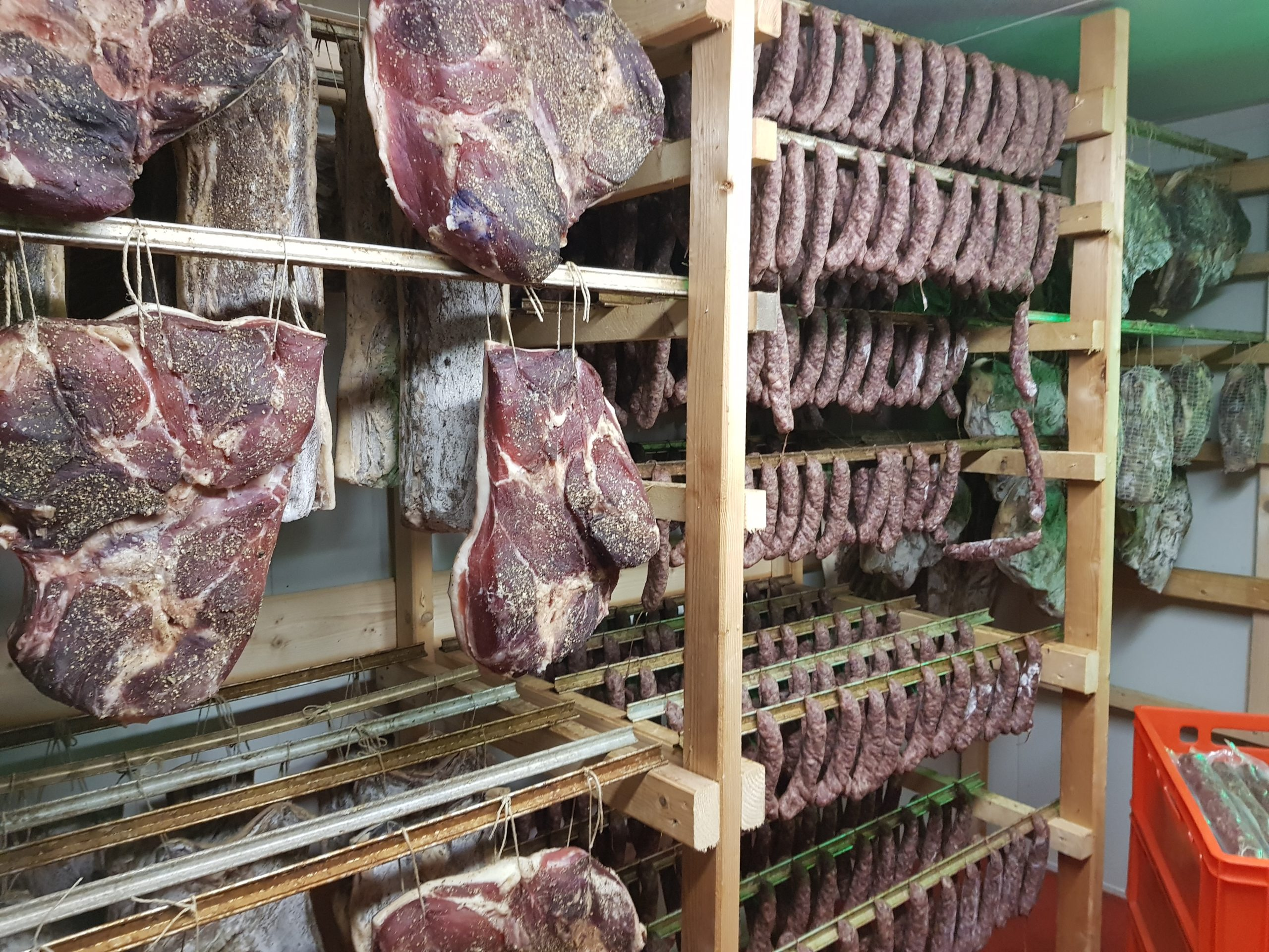 small scale meat production in Austria