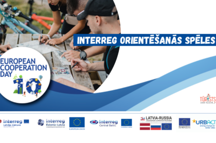 Take part in the Interreg orienteering games to celebrate the 10th anniversary of the European Cooperation Day